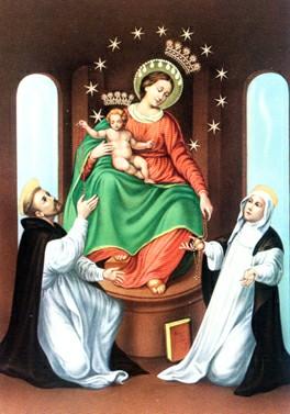 Znalezione obrazy dla zapytania różaniec tradycja katolicka