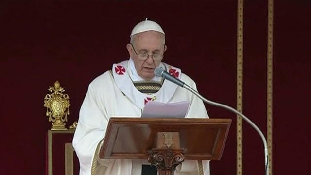 Papa Franciszek_19.03.2013-przem.inaugur._wideo-Reuters_tvn24.pl