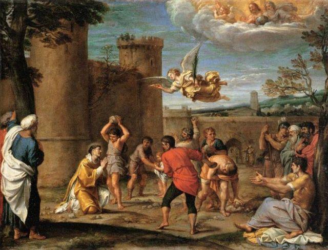 Ukamieniowanie św. Szczepana_Annibale Carracci (1603-04)_Louvre Museum_en.wikipedia.org