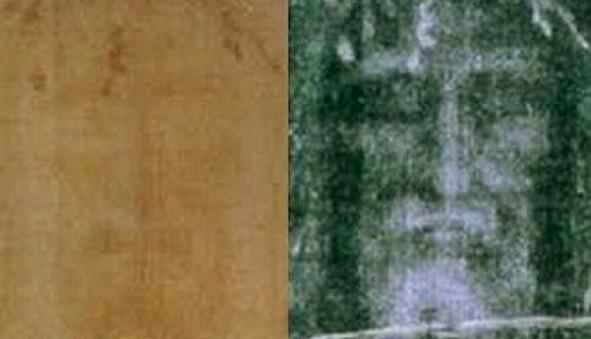 8. Całun Turyński - porównanie z Szatą