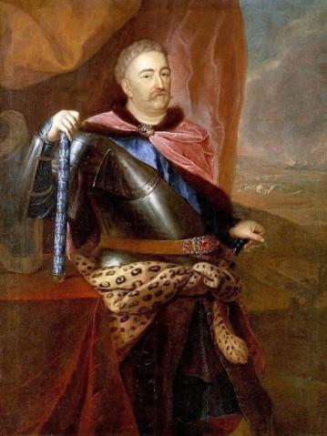 Król Jan III Sobieski z Wielką Wstęgą Orderu Świętego Ducha -Siemiginowski_upload.wikimedia.org