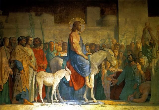 Christ's Entry into Jerusalem by Hippolyte Flandrin c. 1842