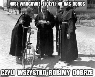 nasi wrogowie złożyli donos _M.M.Kolbe_pch24.pl
