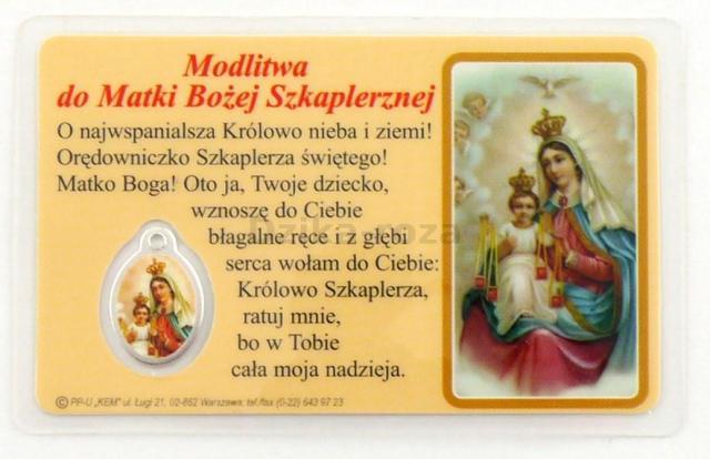 MODLITWA DO MATKI BOŻEJ SZKAPLERZNEJ_dewocjonalia-roza.pl