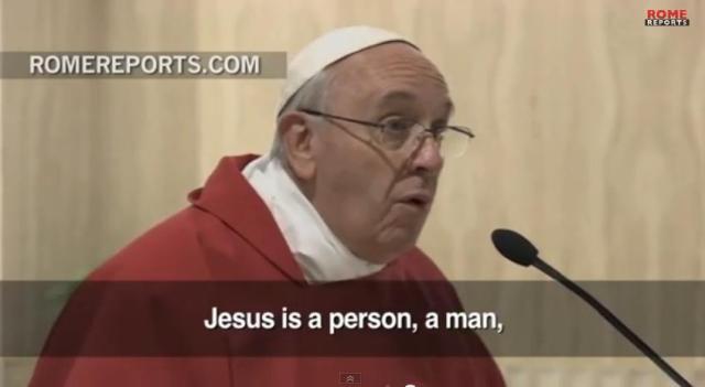 franciszek jezus nie jest duchem jest czlowiekiem 1