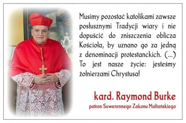 Kard. Raymond Leo Burke, Musimy pozostać katolikami_gloria.tv