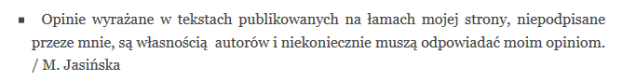 M. Jasińska